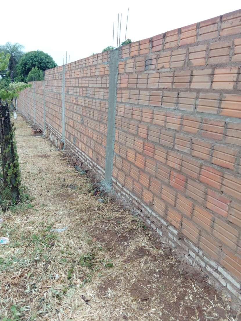 Construcción de pared de muralla - 2