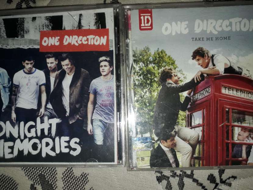 Discos originales de One Direction - 1