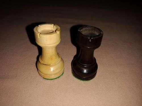 Piezas de Ajedrez hindues de Madera - 2