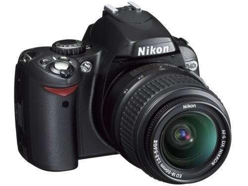 Cámara Nikon D40x - 2