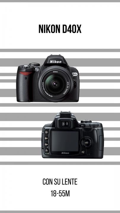 Cámara Nikon D40x