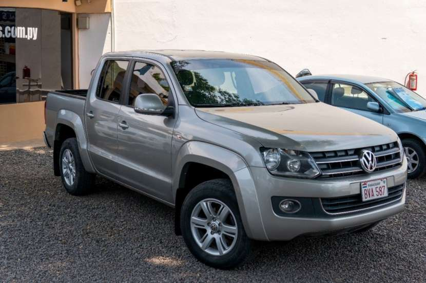 VW Amarok doble cabina 4x4 2016