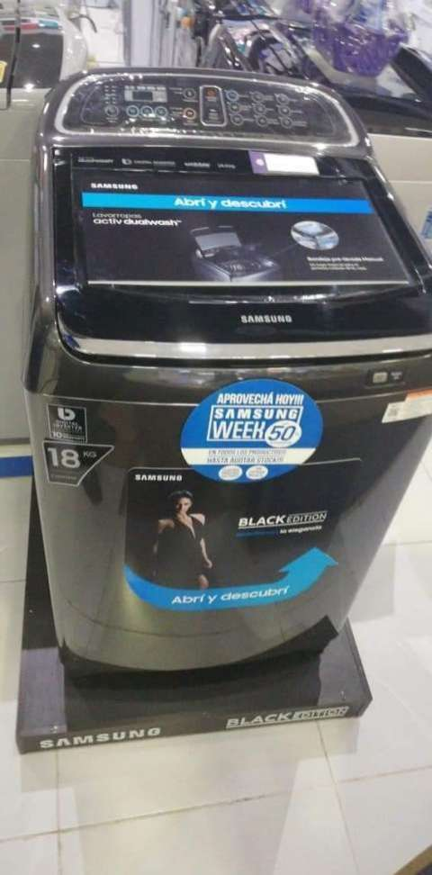 Lavarropa Automática Samsung de 18 kg - 0