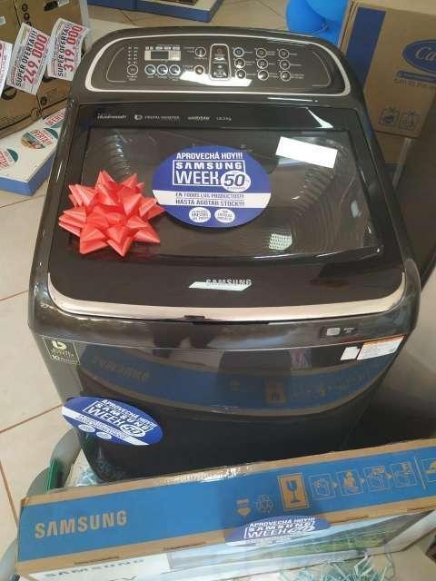 Lavarropa Automática Samsung de 18 kg - 1