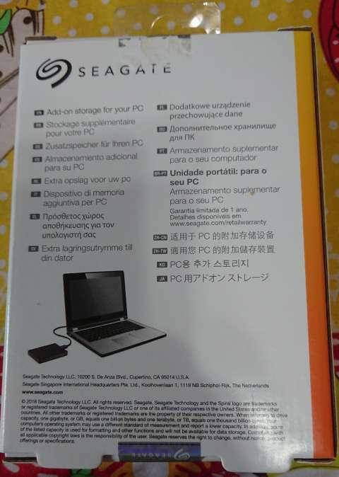 Disco externo Seagate 2 TB - 1