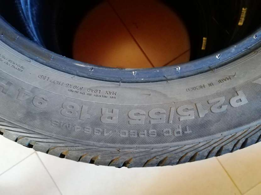 Cubiertas para chevrolet tracker 215/55/18 - 0