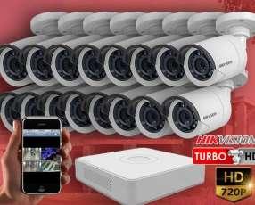 Kit de instalación hikvision de 16 cámaras