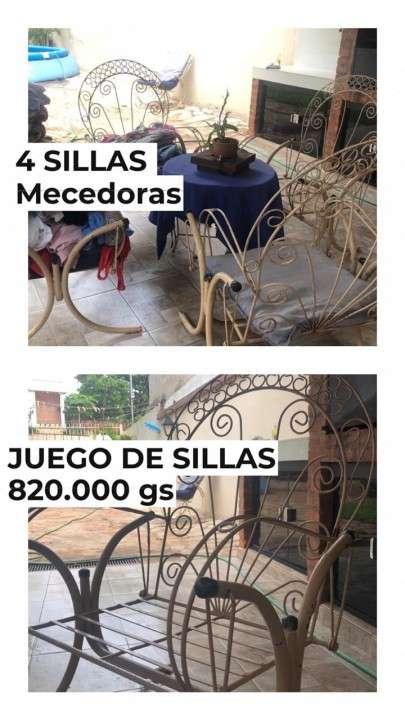 Juego de sillas para patio - 0