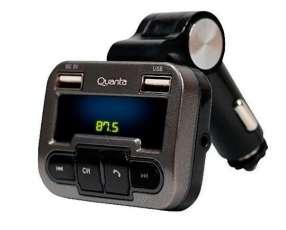 Transmisor FM Quanta con control remoto