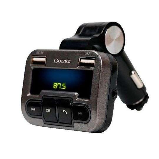 Transmisor FM Quanta con control remoto - 0