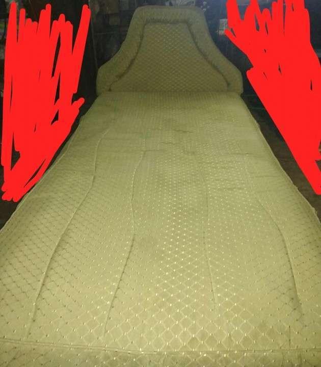 Colchón de una plaza 1.00 x 1.90 color verde - 0
