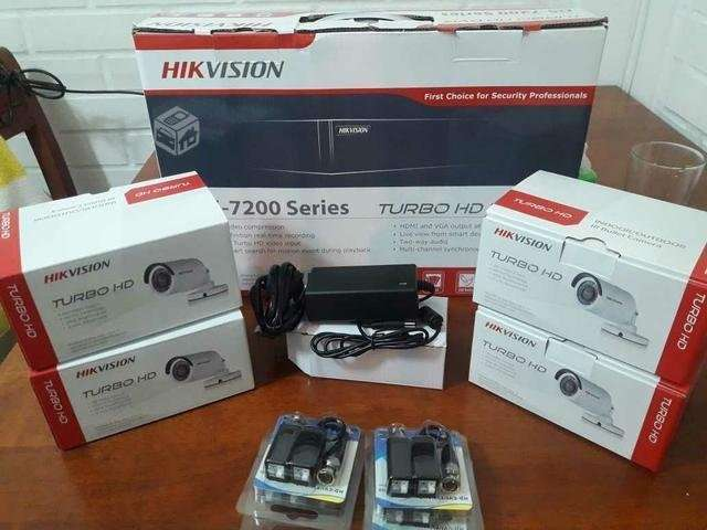 Kit de cámaras Hikvision 4 cámaras - 1