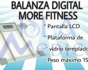 Balanza digital more fitness