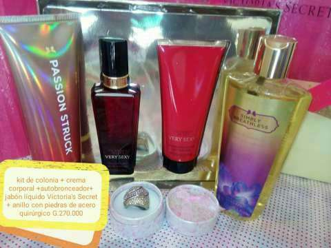 Kit de perfumes y joyas - 1