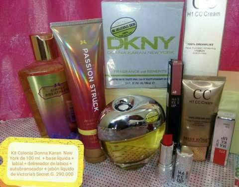 Kit de perfumes maquillajes y joyas - 0