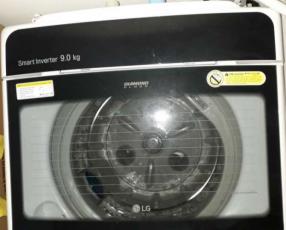 Lavarropas automático LG 9 kg Smart Inverter