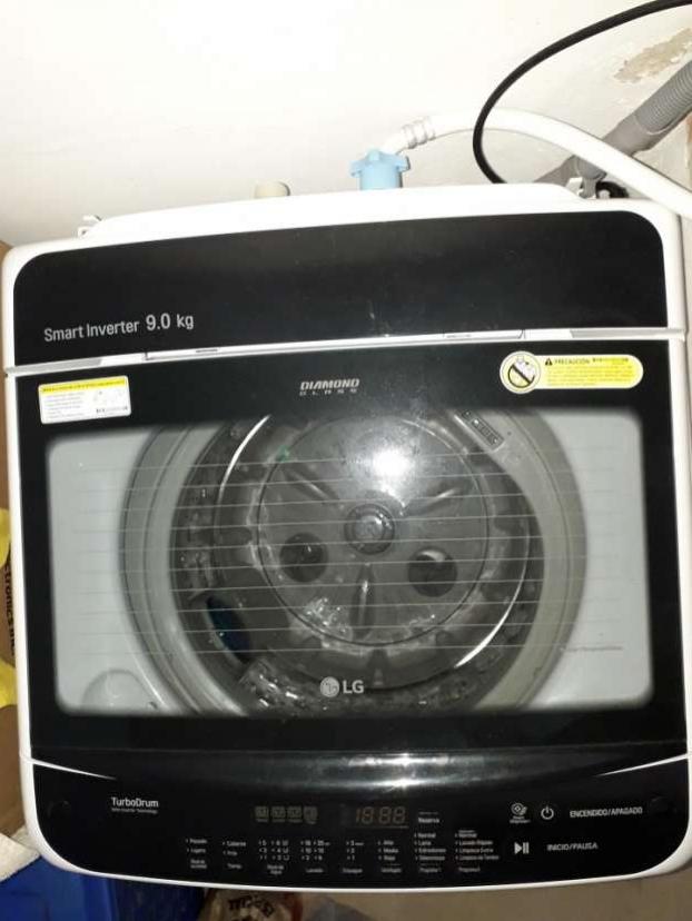 Lavarropas automático LG 9 kg Smart Inverter - 0
