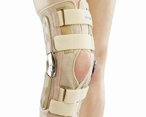 Inmovilizador de rodilla articulable