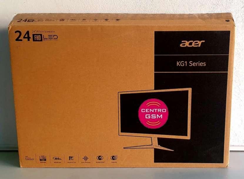 Monitor gamer Acer 24 pulgadas 1ms y 144hz - 0