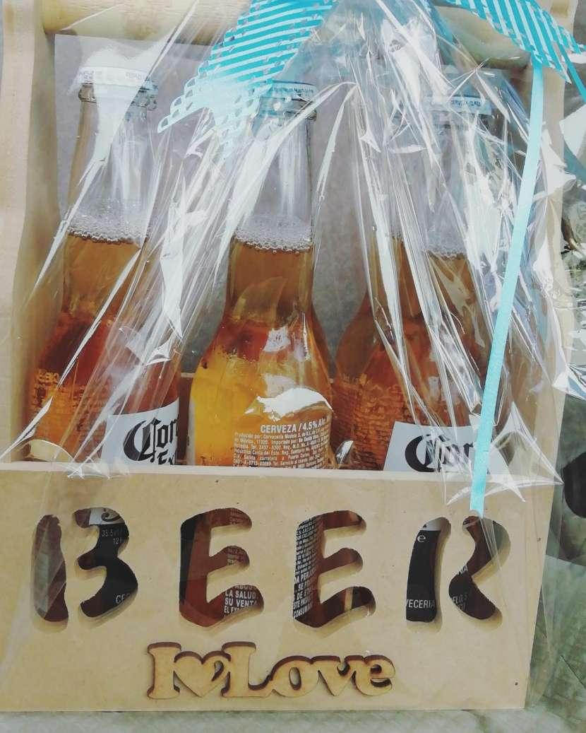 Canastas Cerveceras con abridor