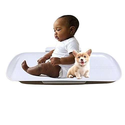 Balanza digital para bebé y mascota - 1
