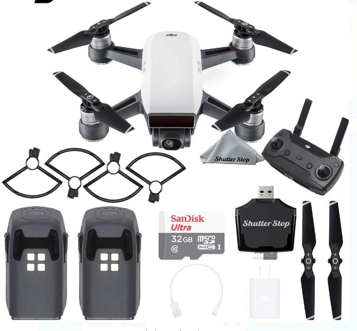 Drone DJI Spark Alpine Combo KIT