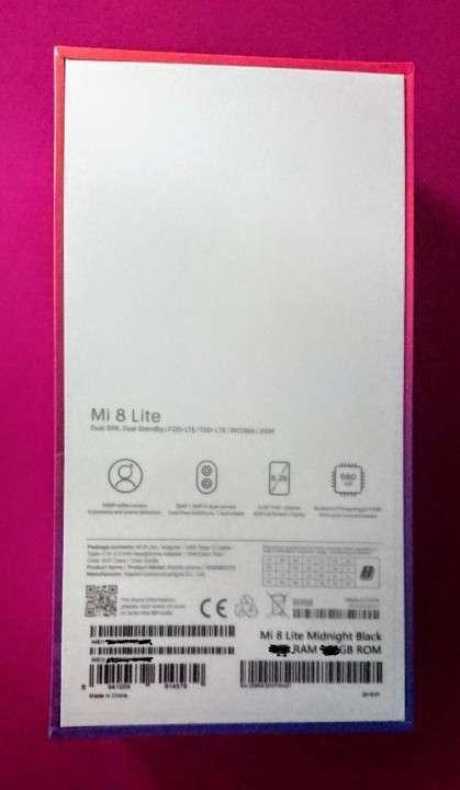 Xiaomi Mi 8 Lite 64 gb nuevos en caja - 1