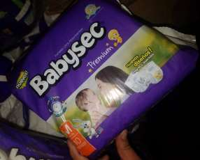 Pañales de bebé M G XG y XXG Baby Sec