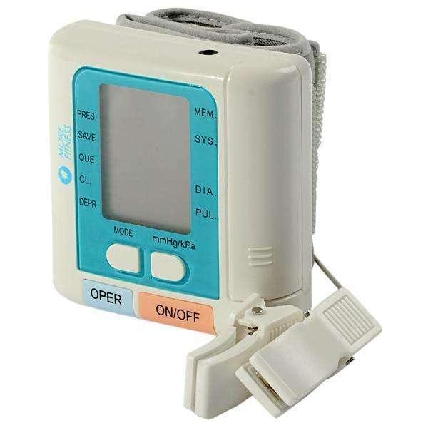 Medidor de presión digital de muñeca - 0