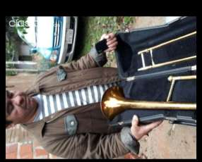 Trombón de vara Si Bemol