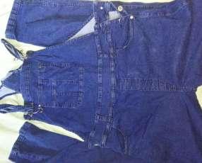 Jeans jardinera nice talle 34