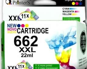 Cartucho Printers 662 Tricolor