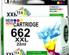 Cartuchos de Tinta Printers 662 Color