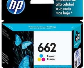 Cartuchos de tinta 662 Color HP