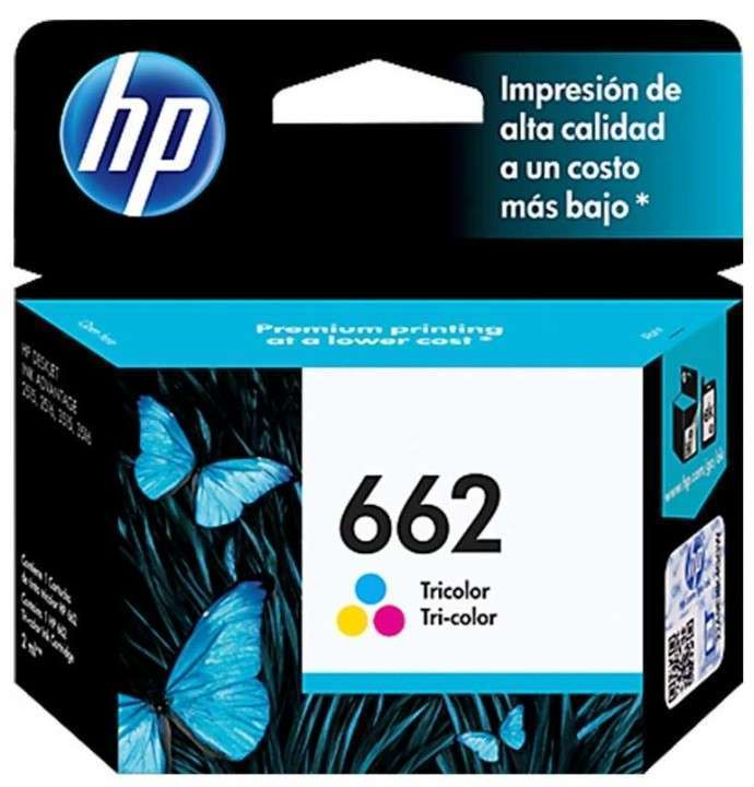 Cartuchos de tinta 662 Color HP - 0