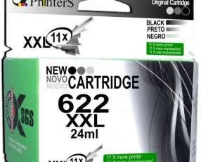 Cartucho de Tinta Marca Printers 662 Negro