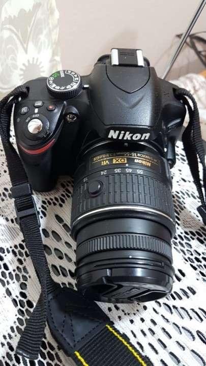 Cámara Reflex Nikon D3200 con objetivo 18-55mm