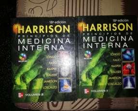 Libro de medicina interna harrison 18° edición