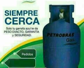 Delivery de Gas para la zona de Lambaré