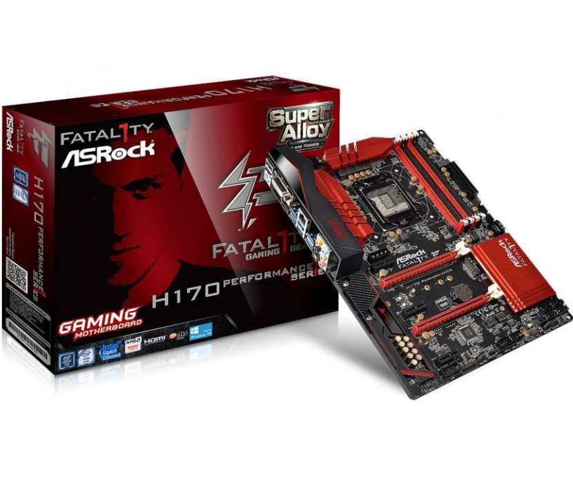 Placa madre Asrock h170 performance