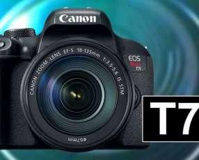 Cámara Canon EOS Rebel T7i