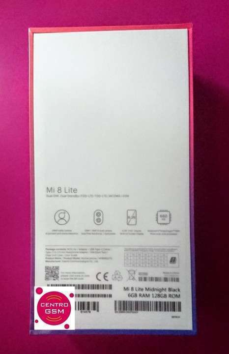 Xiaomi Mi 8 Lite 6 gb ram y 128 gb Nuevos - 1