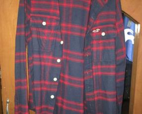 Camisa hollister(para invierno) tamaño S