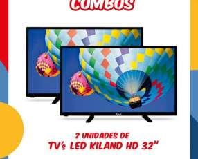 Televisores LED Kiland HD de 32 pulgadas