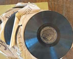 Discos antiguos para vitrola