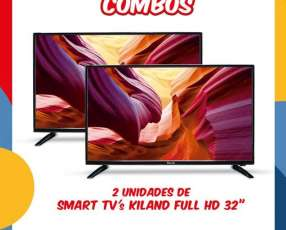 Smart TV Kiland Full HD de 32 pulgadas