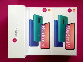 Xiaomi Redmi 9 de 32gb nuevos