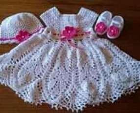Vestiditos de crochet para tu bebé