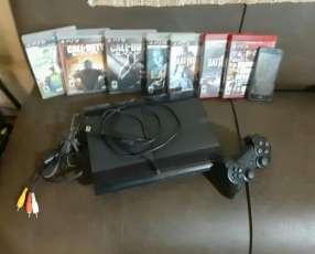 PlayStation 3 + 6 juegos físicos y 2 digitales