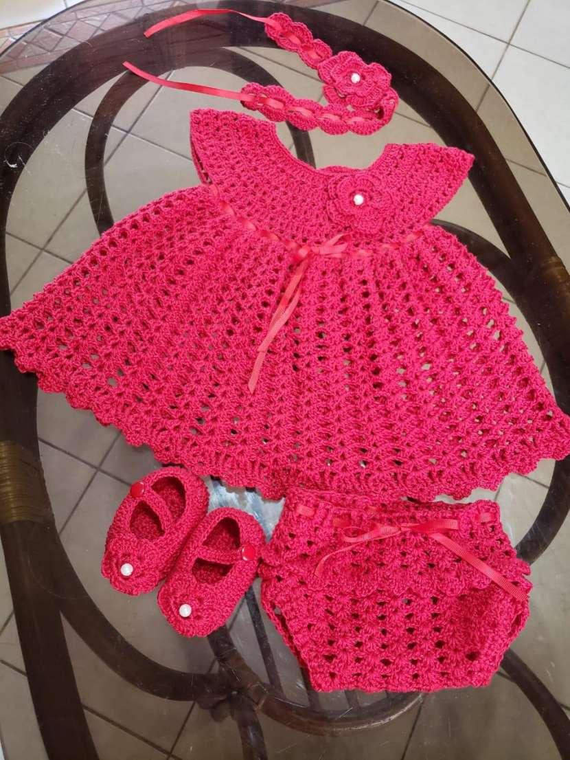 Vestiditos de crochet para tu bebé - 4